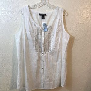 Lane Bryant sleeveless blouse SZ 20